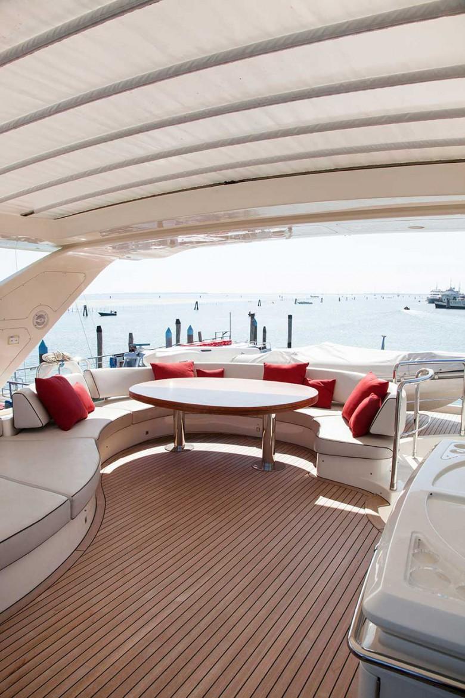 Tappezzeria interni – yacht