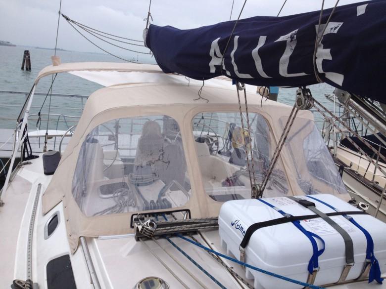 Sprayhood per imbarcazione Alize
