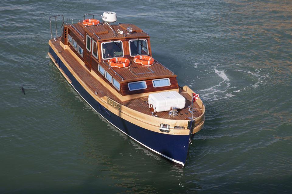 MCN 1675 barca di rappresentanza dell'Amerigo Vespucci